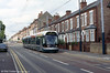 Car 211 amongst the terraced housing of Noel Street, Hyson Green on 29th May 2004.