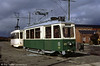 Graz 225, a 16 seat car built in 1950 and seen at the Summerlee Heritage Museum, Glasgow on 4th September 1990.