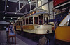 Glasgow Museum of Transport's 672, built in 1898. Kelvin Hall, 4th September 1990. The car was built for the Springburn to Mitchell Street route.