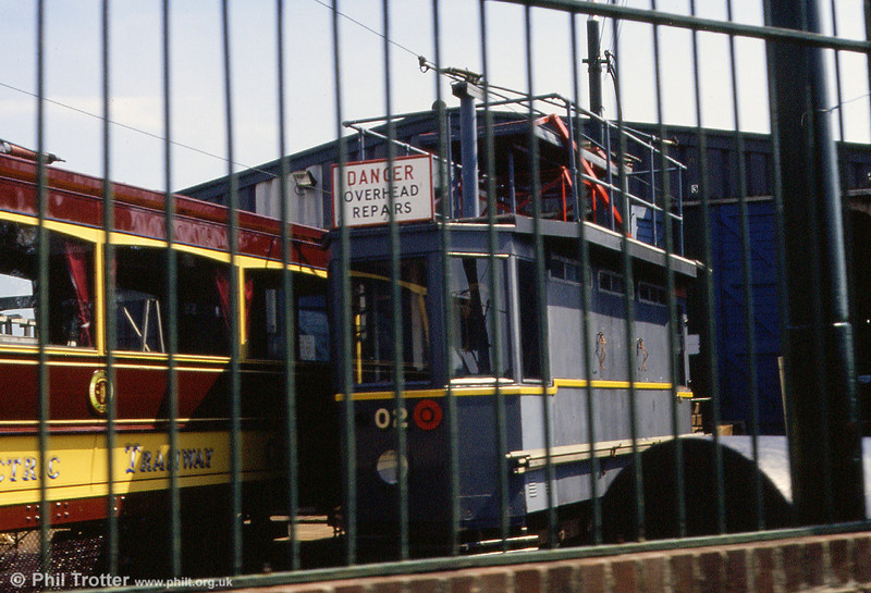 A later view of works car 02 taken on 30th May, 1994.