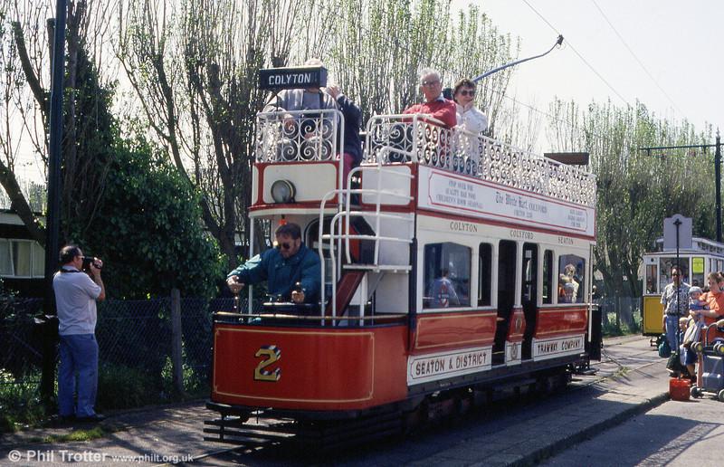 Seaton car 2 , originally built in 1964 at Seaton car park on 30th May 1994.