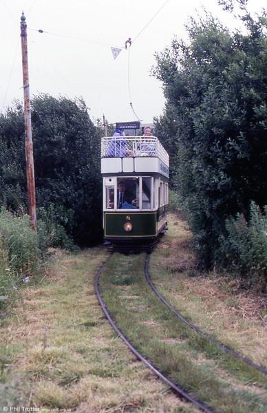 Car 8 near Seaton on 30th June 1990.