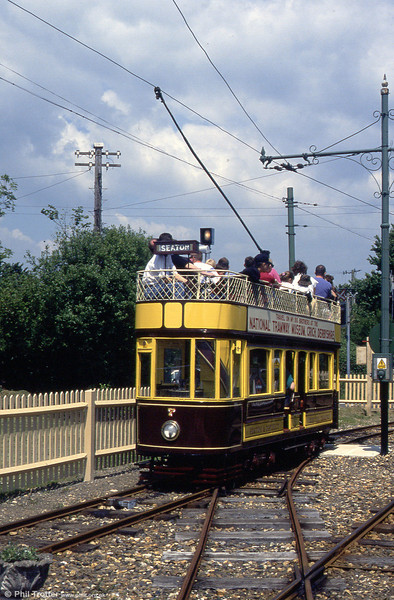 Car 7 departs from Colyford on 30th May, 1994.