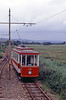 Car 14 between Seaton and Colyford on 1st July 1990.