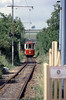 Car 14 approaches Colyford on 30th June 1990.