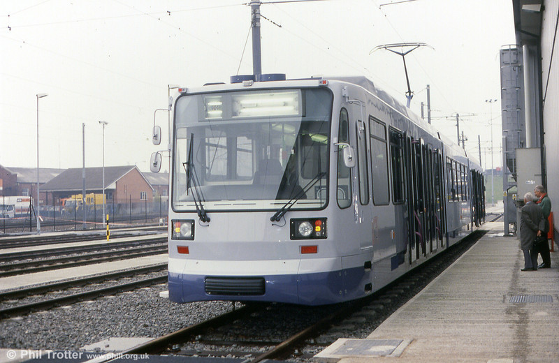 The other end of the same car on 20th November 1993.