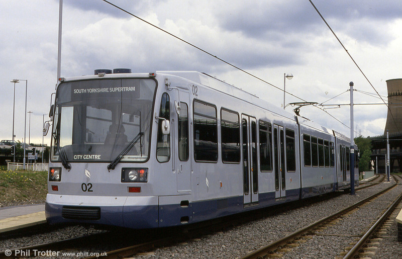 Car 02 at Tinsley on 4th June 1994.