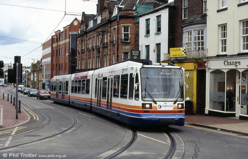 Sheffield 119 near the University on 20th June 2004.