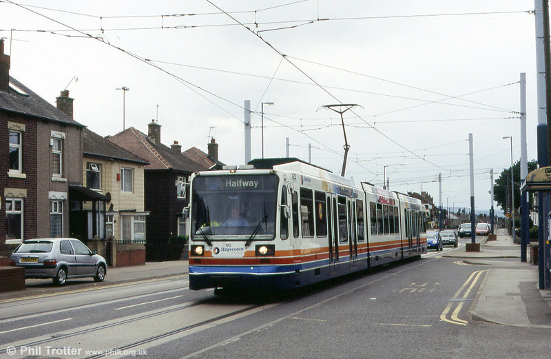 Sheffield 122 in City Road, near Spring Lane, on 20th June 2004.