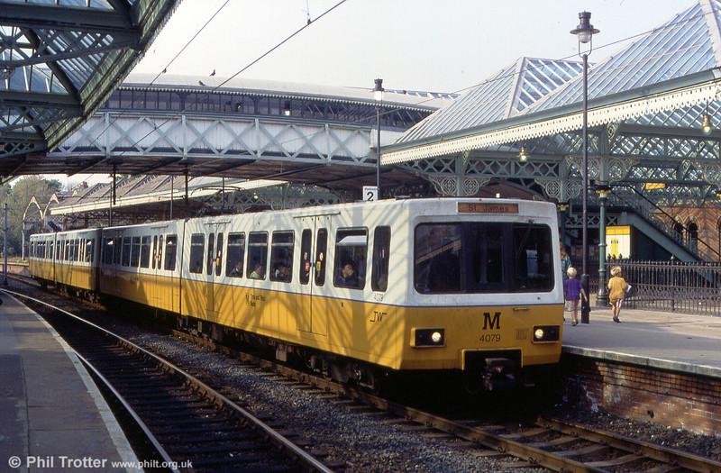 4079 at Tynemouth on 24th May 1992.