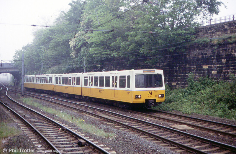 4089 at North Shields on 24th May 1992.