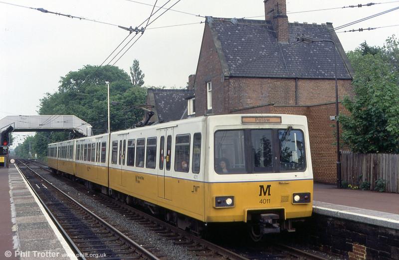 4011 at Benton on 24th May 1992.