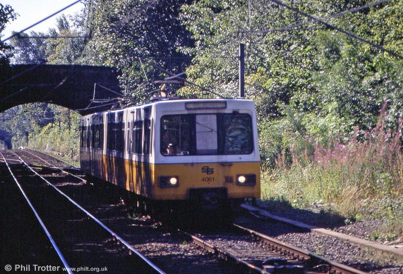 4061 near South Gosforth on 3rd September 1990.