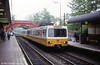 4085 and the 1864 North Eastern Railway footbridge at South Gosforth on 23rd May 1992.