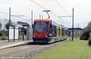 Midland Metro car 11 'Theresa Stewart' at Bradley Lane on 5th June 2004.
