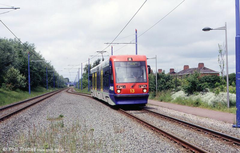 Car 13 near Bradley Lane on 5th June 2004.