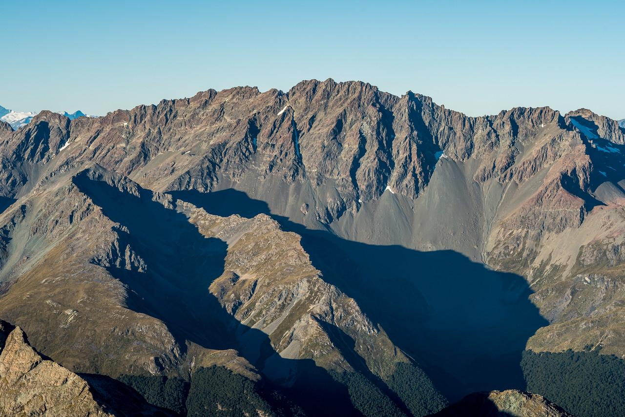 Mount Bonpland from Pt 2096m, Ailsa Mountains High Peak