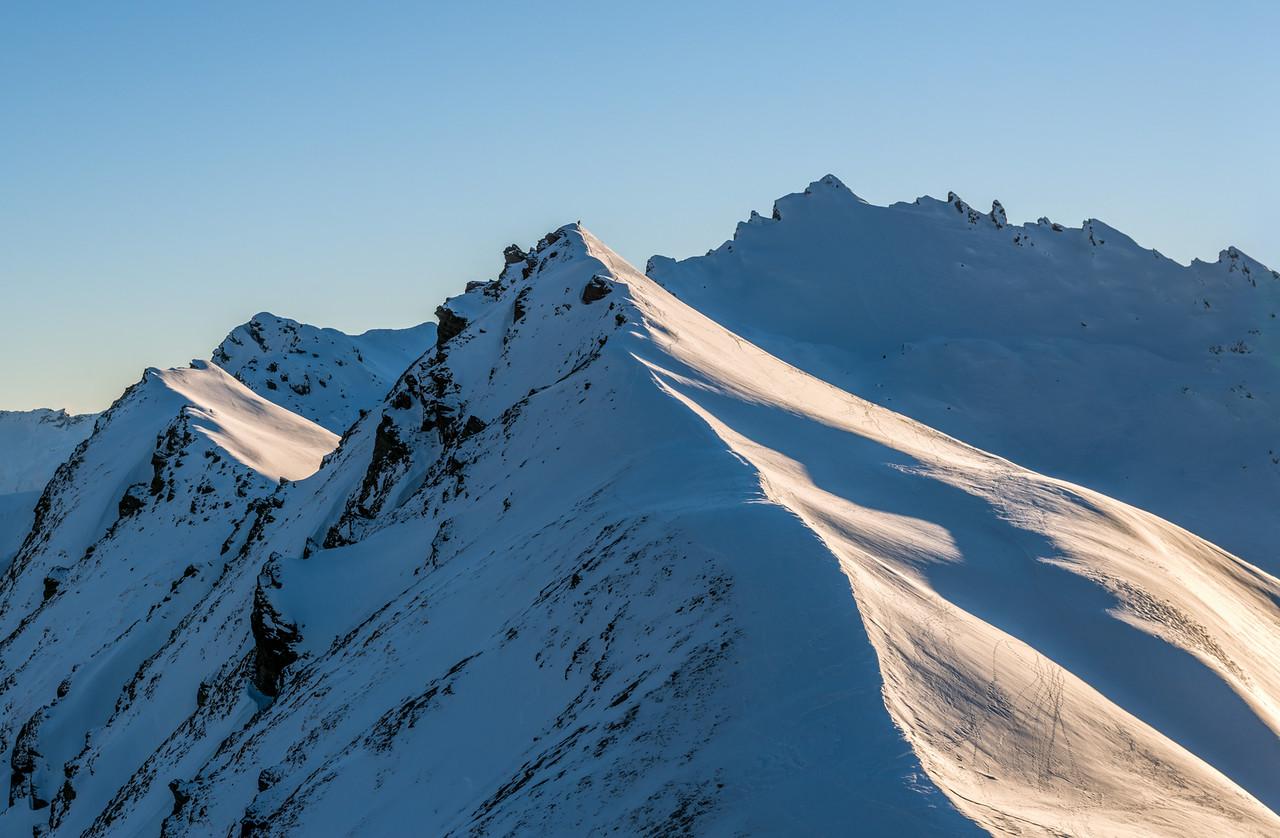 On the tops north of Albert Burn Saddle