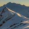 Unnamed Peak Pt 2127m north of Albert Burn Saddle