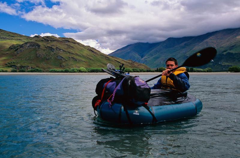 On the lower Matukituki River
