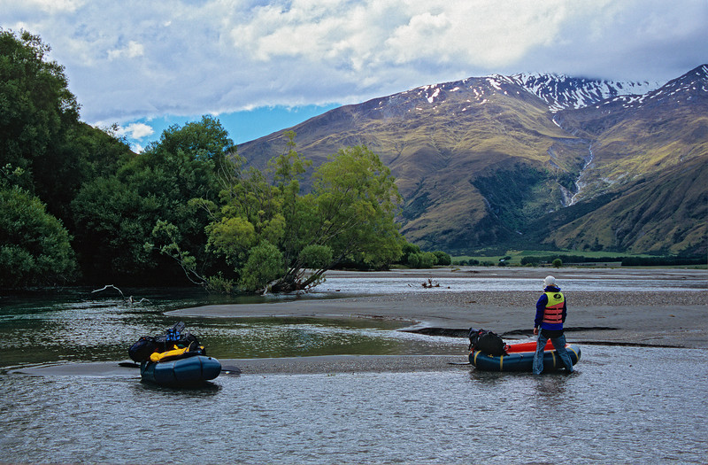 On the lower Matukituki River
