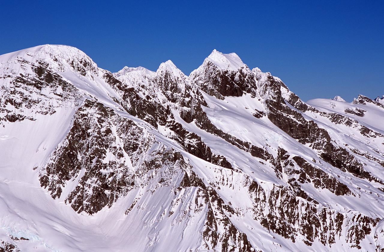 Mt Liverpool, Mt Wahine and Mt Maori