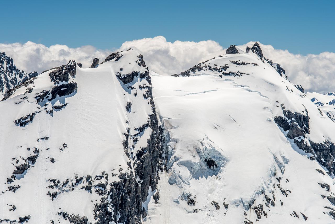 Intervention Ridge from Blockade Peak
