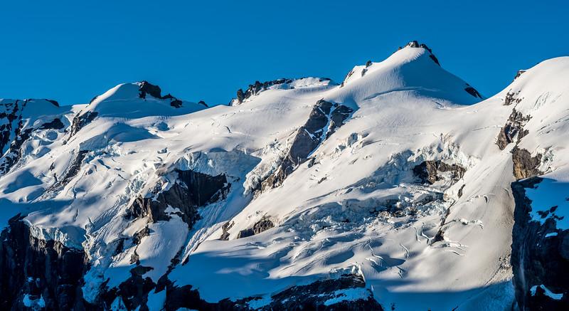 Watkins (at centre image), Stefansson Peak and Desperation Pass, Barrier Range