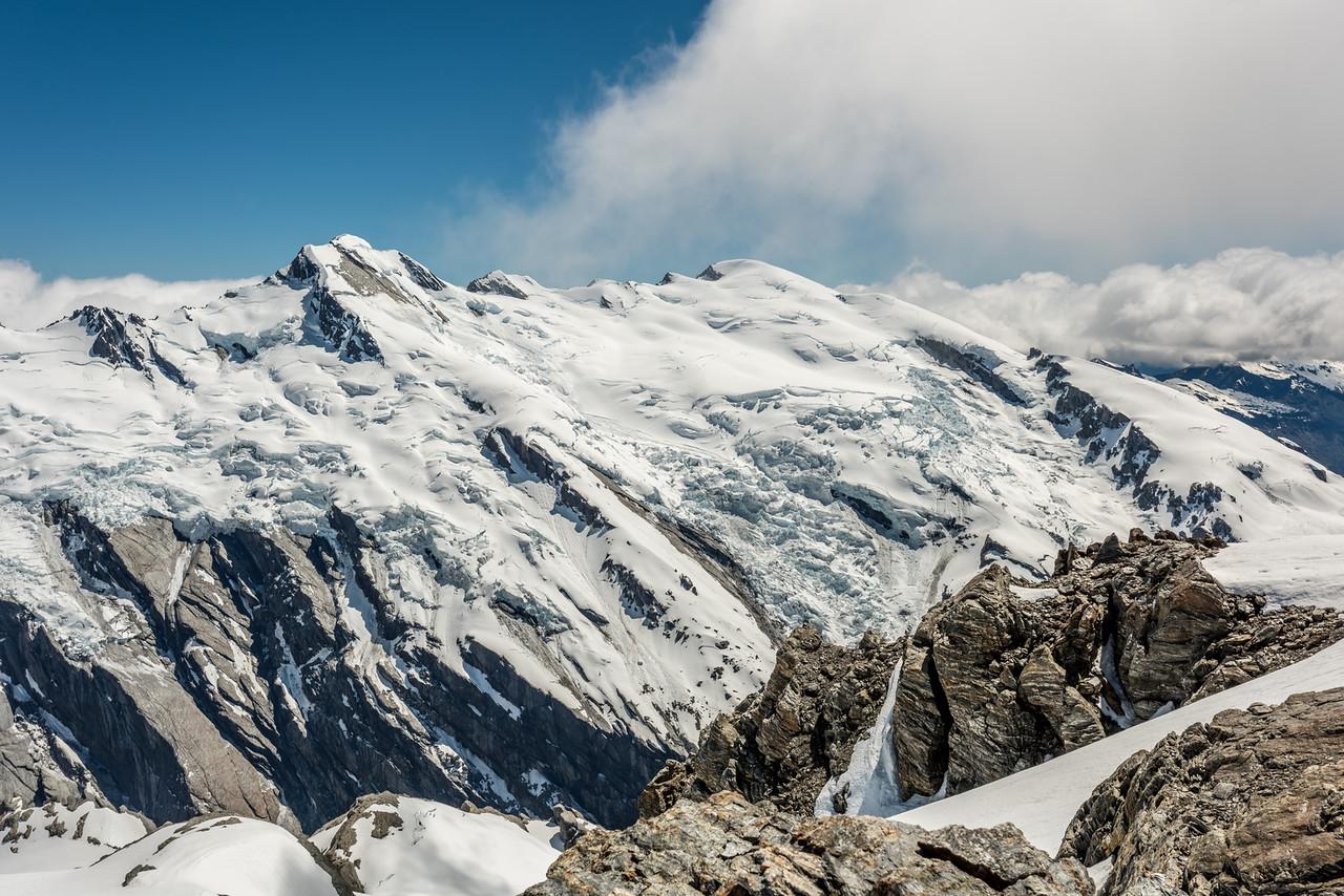 Climax Peak and Destiny Peak from Watkins