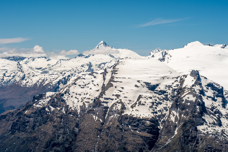 Mount Aspiring / Tititea and Mount Lydia from Watkins