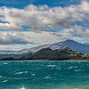 A rather choppy Lake Wanaka