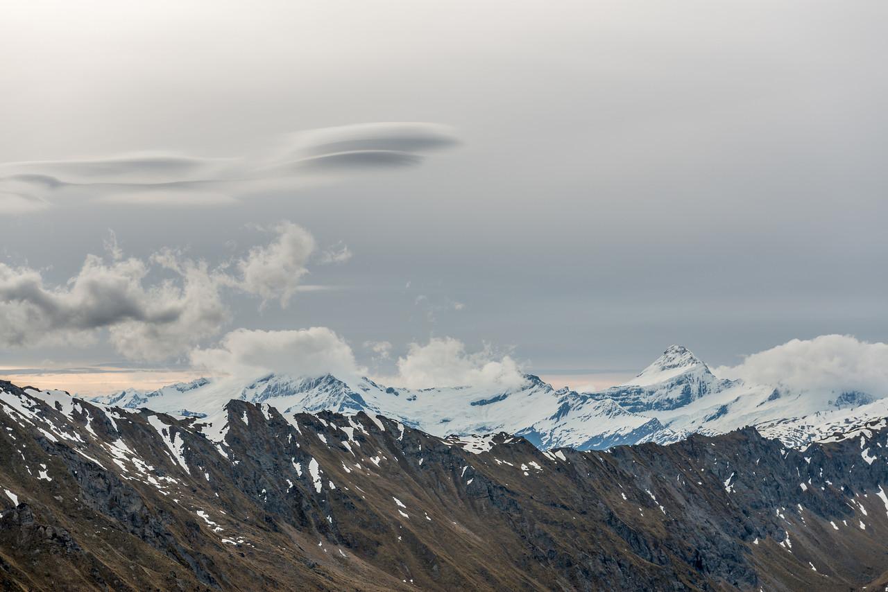 Mount Aspiring / Tititea from the Buchanan Low Peak