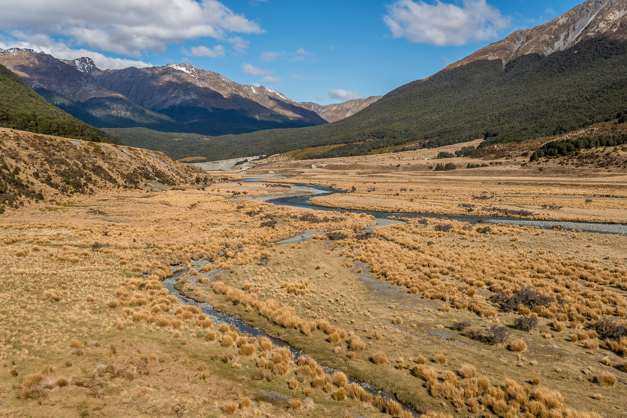 The river flats above the bend in the Greenstone River
