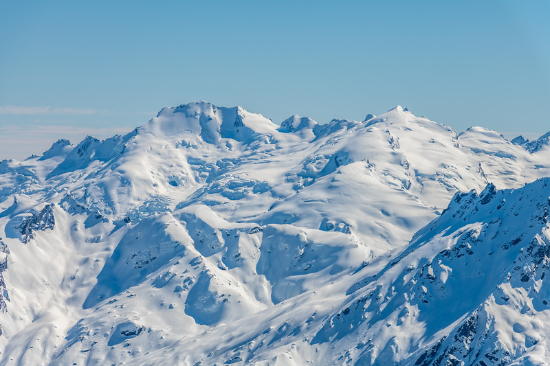 Climax Peak and Destiny Peak from Cleft Peak.