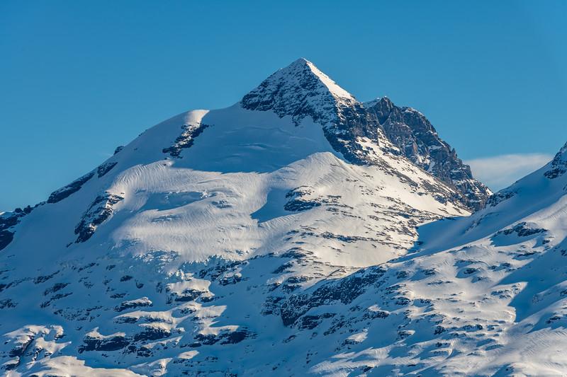 Mount Earnslaw from Twenty Five Mile Saddle.