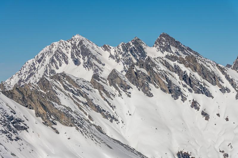 Centaur Peaks from Cleft Peak