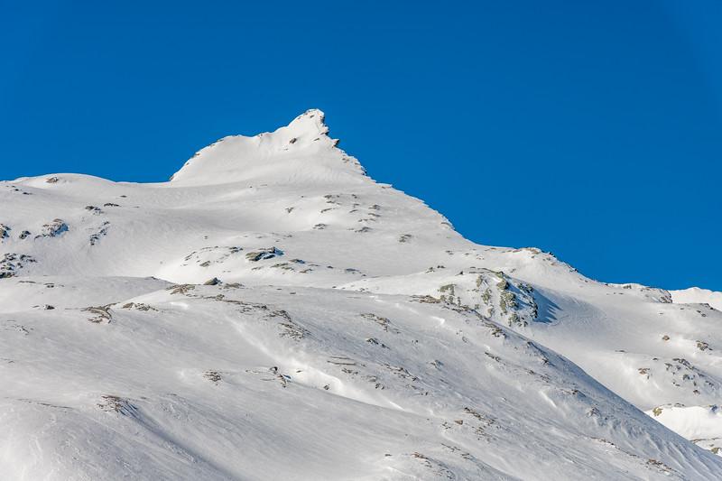 Cleft Peak from Twenty Five Mile Saddle.