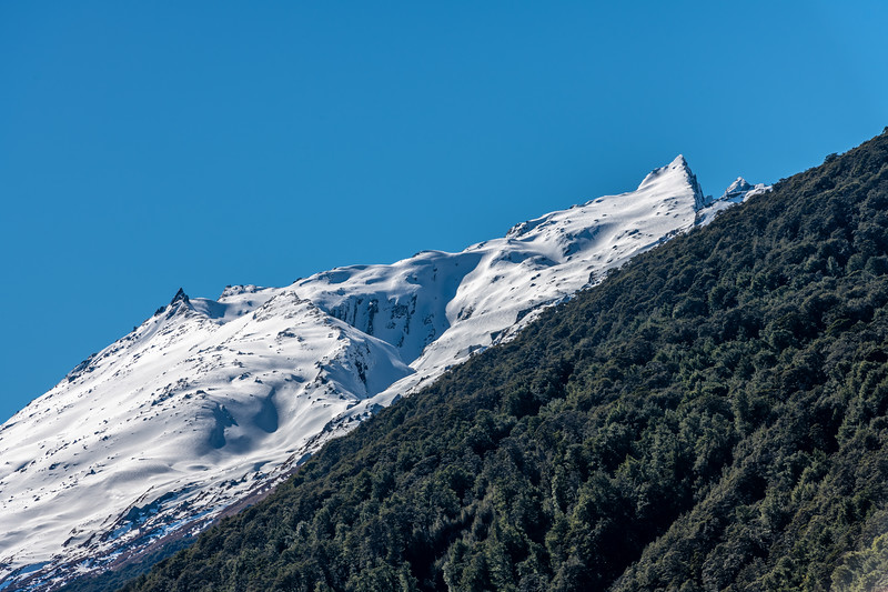 Cleft Peak from the Rees Valley floor