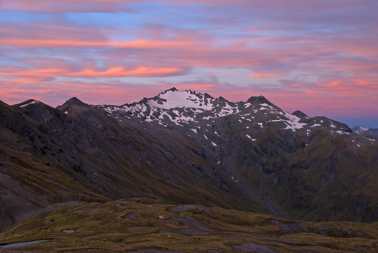 Unnamed peak 2127m north of Albert Burn Saddle