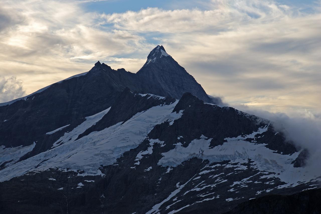 Mt Aspiring from Albert Burn Saddle