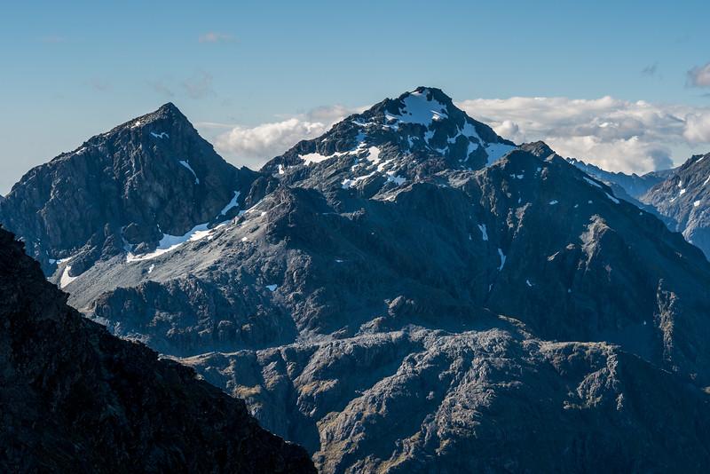Mount Xenicus and Mount Erebus