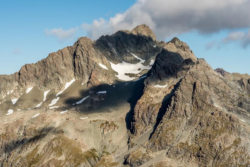 Unnamed Peak Pt 2117m, Humboldt Mountains.