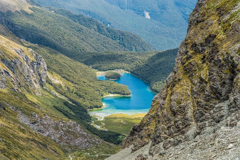 View of Lake MacKenzie from Emily Pass