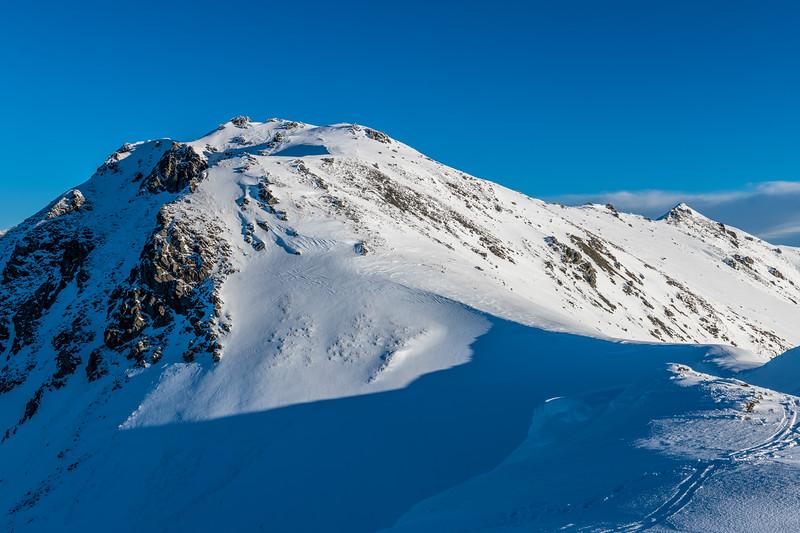 The summit of End Peak
