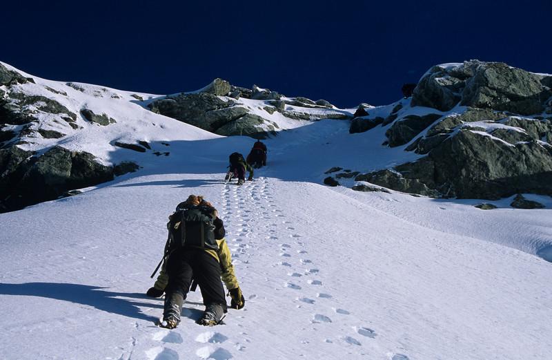 Descending Mount Xenicus