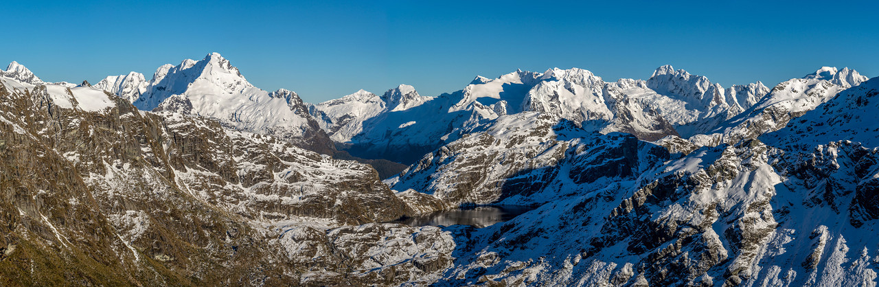Lake Harris and Darran Mountains