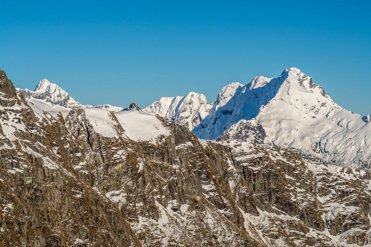 Sabre Peak and Mount Gifford