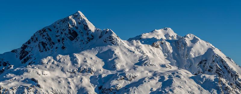 Mt Xenicus and Mt Erebus