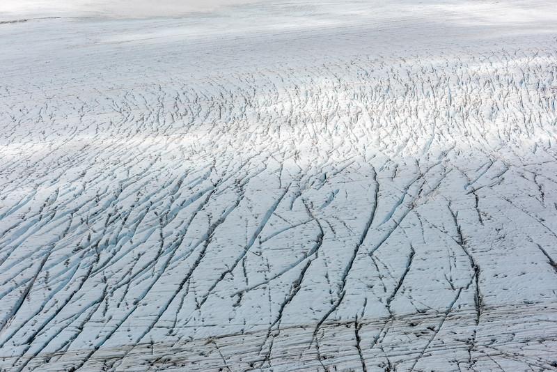 Crevasses on the Upper Volta Glacier