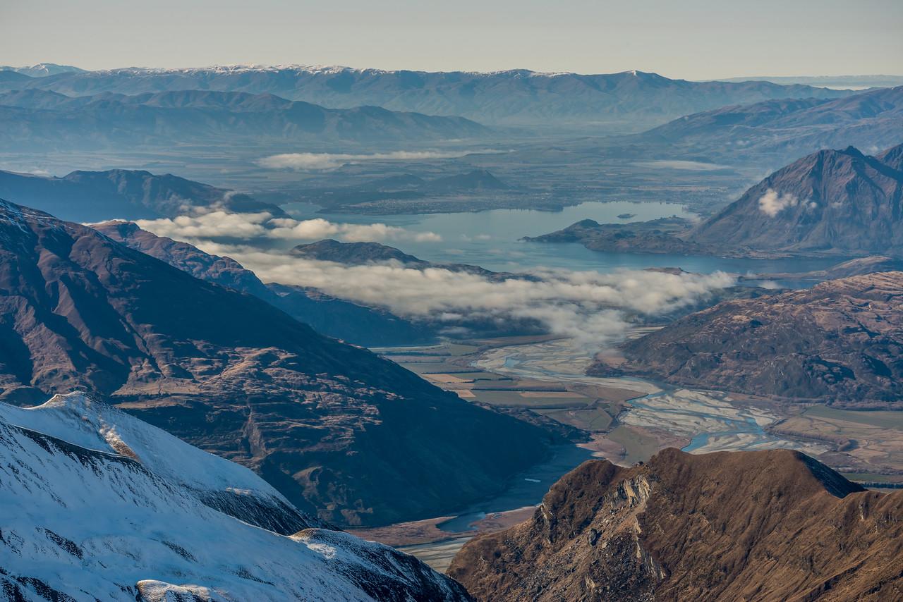 Lake Wanaka from Fog Peak